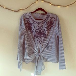 Stripped knotty top!
